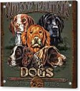 Sporting Dog Traditions Acrylic Print by JQ Licensing