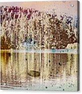 Sprayscape Lake Acrylic Print by Stephen Sly
