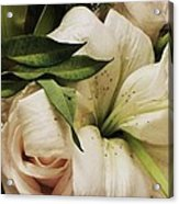 Spring Flowers Acrylic Print by Anna Villarreal Garbis