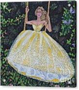Spring Swing Acrylic Print by William Ohanlan