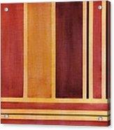 Square With Lines 2 Acrylic Print by Hakon Soreide