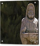 St. Francis Acrylic Print by Catherine Fenner