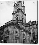 St Georges-tron Church Nelson Mandela Place Glasgow Scotland Uk Acrylic Print by Joe Fox