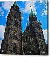 St. Lorenz Church - Nuremberg Acrylic Print by Juergen Weiss
