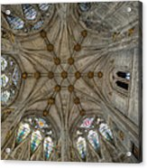 St Mary's Ceiling Acrylic Print by Adrian Evans