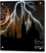 St Nikolas Church - Prague Acrylic Print by Michal Boubin