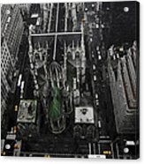 St. Patricks Cathedral Acrylic Print by Marcel Krasner