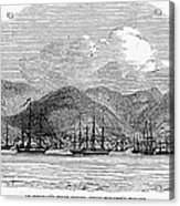 St. Thomas, 1844 Acrylic Print by Granger