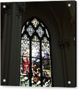 Stained Glass Acrylic Print by David Bearden