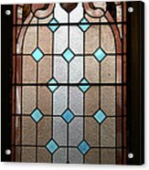 Stained Glass Lc 15 Acrylic Print by Thomas Woolworth