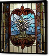 Stained Glass Lc 20 Acrylic Print by Thomas Woolworth