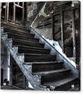 Stairway To Ruin Acrylic Print by Andrew Pacheco