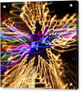 Star Abstract Acrylic Print by Garry Gay