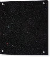 Star Cluster M35 Acrylic Print by Eckhard Slawik