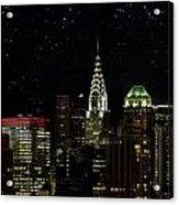 Starry Night Acrylic Print by Janet Fikar