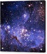 Stars And The Milky Way Acrylic Print by Don Hammond