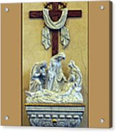 Station Of The Cross 13 Acrylic Print by Thomas Woolworth