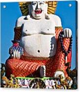 Statue Of Shiva Acrylic Print by Adrian Evans