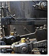 Steam Roller Engine Gizmos 7d15114 Acrylic Print by Wingsdomain Art and Photography