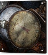 Steampunk - Gauge For Sale Acrylic Print by Mike Savad