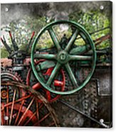 Steampunk - Machine - Transportation Of The Future Acrylic Print by Mike Savad
