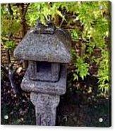 Stone Lantern Acrylic Print by Nina Fosdick