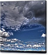 Stormy Clouds ... Acrylic Print by Juergen Weiss
