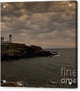Stormy Nubble Acrylic Print by Timothy Johnson