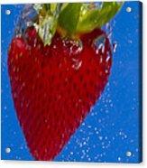 Strawberry Soda Dunk 7 Acrylic Print by John Brueske