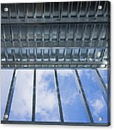 Structural Steel Construction Of An Acrylic Print by Don Mason