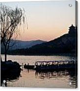 Summer Palace Evening Acrylic Print by Mike Reid