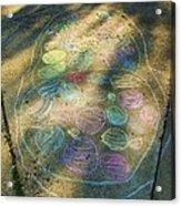 Summer Sidewalk Fun Acrylic Print by Todd Sherlock