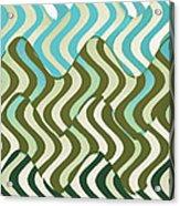 Sun Canopy I Acrylic Print by Ricki Mountain