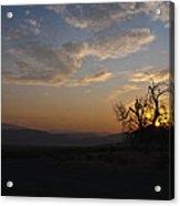 Sunrise Over Sand Pass Acrylic Print by Kurt Golgart