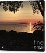Sunset Cruise Acrylic Print by Pamela Baker