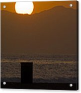 Sunst Over Malibu  Acrylic Print by Micah May