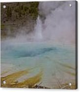 Superior Geyser 1 Acrylic Print by Charles Warren