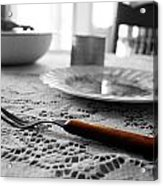 Suppertime Acrylic Print by Amber Davis