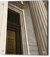 Supreme Court Entrance Acrylic Print by Roberto Westbrook
