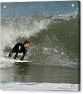 Surfing 398 Acrylic Print by Joyce StJames