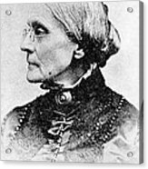 Susan B. Anthony, American Civil Rights Acrylic Print by Photo Researchers, Inc.
