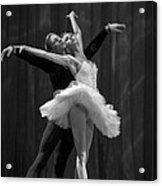 Swan Lake  White Adagio  Russia 2 Acrylic Print by Clare Bambers