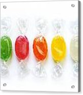 Sweet Candies Acrylic Print by Carlos Caetano