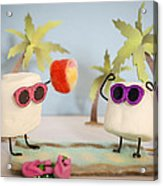 Sweet Vacation Acrylic Print by Heather Applegate