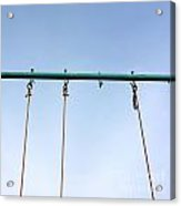 Swing Acrylic Print by Bernard Jaubert