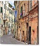 Taggia In Liguria Acrylic Print by Joana Kruse