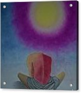 Talking With Sun Acrylic Print by Jalal Gilani