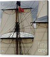 Tall Ships Acrylic Print by Bob Christopher
