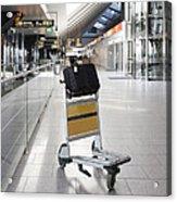 Tallinn Airport In Estonia Acrylic Print by Jaak Nilson