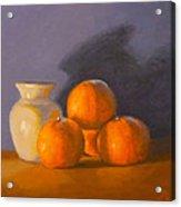 Tangerines Acrylic Print by Joe Bergholm